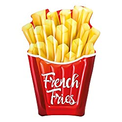 Intex 58775 Luftmatratze Aufblasbar French Fries Pommes 175 X 132 Cm