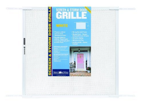 24-zoll-grill (New York Wire 71441 Mesh Door Grill, 24-Inch by 36-Inch, White by New York Wire)