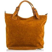 up-to-date styling originale più votato meglio borsa scamosciata - Beige - Amazon.it