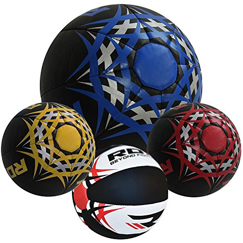 RDX Gym Medizinbälle Crossfit Fitness Medizinball Slamball Gewichtsball 5kg, 8kg, 10kg, 12kg