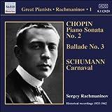 Rachmaninov: Solo Piano Recordings 1