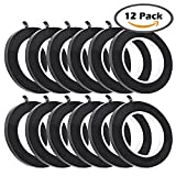 #6: 12 Pcs Black Whiteboard Gridding Graphic Tape Charts Tapes Marking Tape Self Adhesive,3mm Width