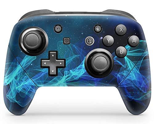 Skins4u Aufkleber Design Schutzfolie Vinyl Skin kompatibel mit Nintendo Switch Pro Controller Star Spiral Skin Design Schutzfolie