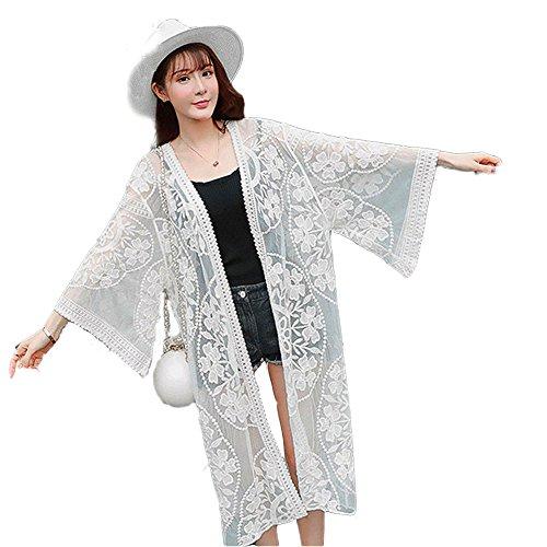 Susulv Mantel-Sonnencreme-Mantel-langer Mantel-trockener Mantel-UV- und dünner Strand-Mantel im Freien.