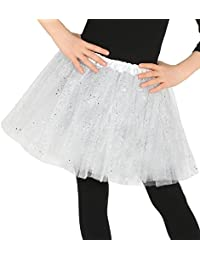 Fancy Me Girls Bright Colourful Glittery Sparkly Dress Tutu Skirt Dance Party Halloween Carnival Festival Christmas Princess 8 Colours Available