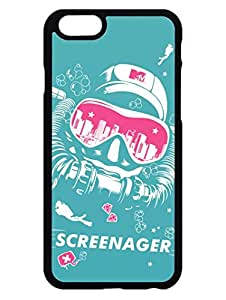 iPhone 6 6S Cases & Covers - MTV Gone Case - Screenager - Aqua - Designer Printed Hard Cases with Premium Rubberized Edges