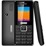 ONEANTWO D1 Dual Sim Basic Feature Mobile Phone (Black)