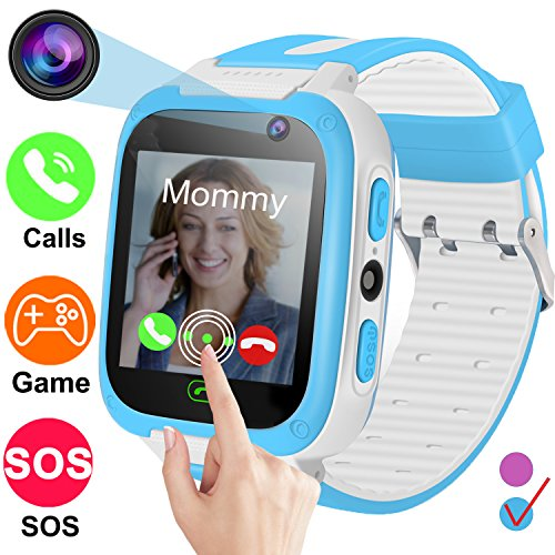 Smartwatch for Kids-TURNMEON Game Smart Watches for Girls Boys Birthday Gifts Back...