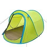 doppel - outdoor - zelt monolayer wurfhand boot automatisch zwei sekunden family camping zelt schnelle automatische öffnung zelt eingerichtet, kostenlos ( Farbe : Grün )
