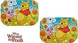 Disney Winnie the Pooh- 2 x Tischunterlagen /Tischset /Tisch Matten / Platzdeckchen / Essunterlage/ Platzset / Placemat aus Kunststoff abwaschbar - tolle Geschenkidee für Kinder