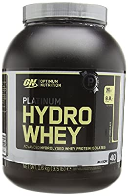 Optimum Nutrition Platinum Hydro Whey Protein Powder, 1.60 kg - Chocolate by CLFDI