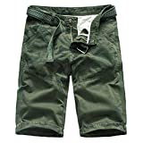 Herren Shorts Kurze Hose Schnell Trocknend Atmungsaktive Sporthose Taschen...