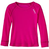 Odlo Camiseta para niños, color rosa, vacaciones, color morado - morado, tamaño 4 años (104 cm)