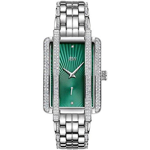 JBW Mink Reloj de Mujer Diamante Cuarzo Correa y Caja de Acero J6358A