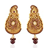 Majestik Gold plated Antique Earring