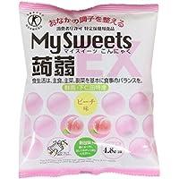 [Tokuho] Shimonita Bussan Mi Suites konjac EX melocot?n gusto seis bolsas X16