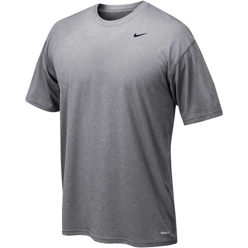 Nike Herren kurzärmliges Shirt Legend Dri-Fit Grau