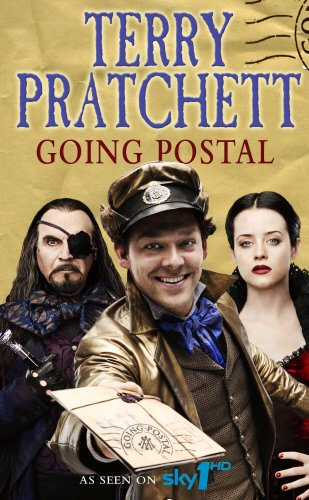 Book cover for Going Postal
