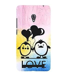 EPICCASE my love Mobile Back Case Cover For Asus Zenfone 5 (Designer Case)