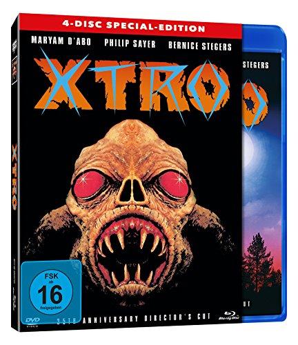 X-TRO - 4-Disc Special-Edition (BD+2 x DVD inkl. umfangreichen Bonusmaterial + Soundtrack) - limitiert auf 800 Stück!! [Blu-ray]