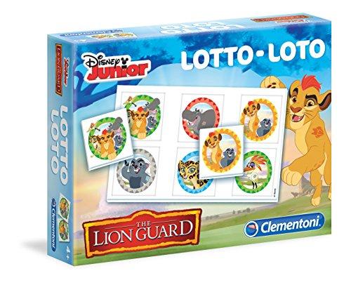 Clementoni–13734–Lotería la Guardia del Rey León