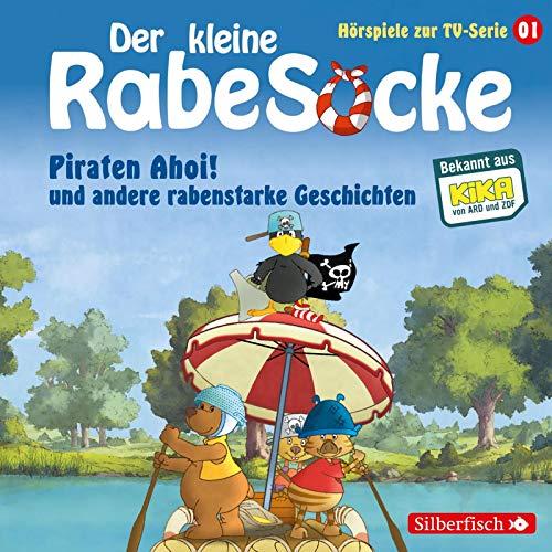 Piraten Ahoi!, Die Fußballwaldmeisterschaft, Das goldene Amulett (Der kleine Rabe Socke - Hörspiele zur TV Serie 1): 1 CD - 3-jahres-dvd