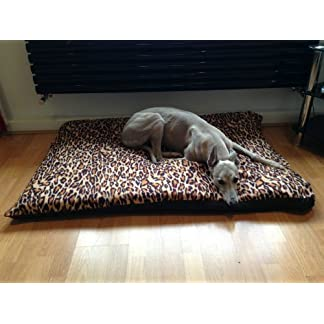 KosiPet LEOPARD Fleece EXTRA LARGE SPARE COVER For Dog Bed,Dog Beds,Pet Bed,Dogbed,Dogbeds,Petbed,Petbeds, 13