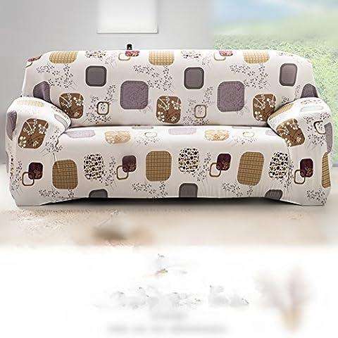 Stretch Sofa Loveseat Covers Slip Over Elastic Fabric Settee Slipcover