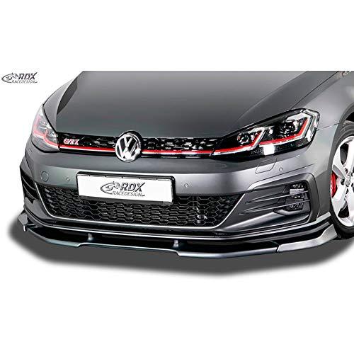 RDX Frontspoiler VARIO-X Golf 7 GTI / GTD / GTE Facelift 2017+ Frontlippe Front Ansatz Vorne Spoilerlippe
