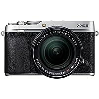Fujifilm X-E3 inkl. XF18-55mm F2.8-4 R LM OIS Objektiv (24,3 Megapixel) silber