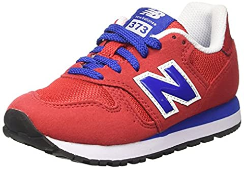 New Balance 373, Sneakers Basses Mixte Enfant, Rouge (Red), 33