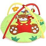 Bebé suave alfombra de juegos oso manta gimnasio con marco sonajero gatear juguete