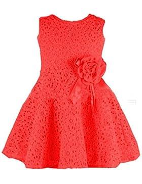 Vestido de niña, RETUROM Vestido de una pieza princesa Party Dress de las muchachas encantadoras del cordón