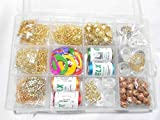 #2: Am Silk Thread Earring/Jhumka Making Kit- All Jhumka Making Materials- Makes Different Shape Of Earrings With Storage Box