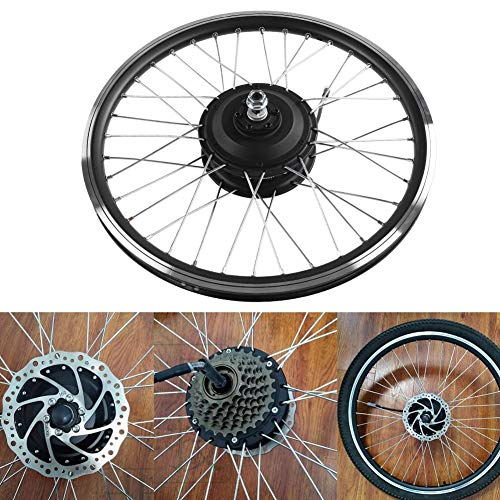 Yencoly Fahrradmotor Umbausatz, 36V/48V 350W Motor KT900S LED Anzeige 700C Rad E-Bike Umbausätze Fahrradmotor Umbausatz(Hinterer MotorA)