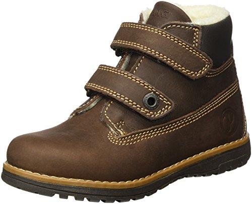 Primigi Baby Jungen PCA 8059 Sneaker, Braun (Marrone Scuro), 24 EU