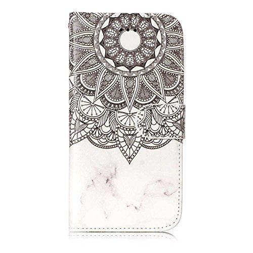 iPhone Fall Wallet Kartenhalter mit Ständer Slim Cover für iPhone [mit gratis Tempered Glas Displayschutzfolie]
