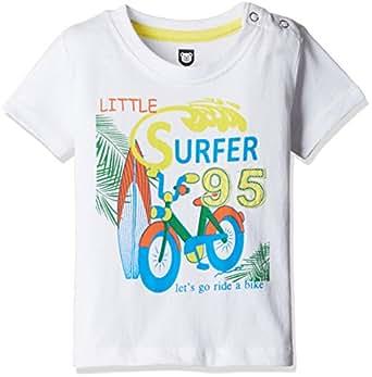 612 League Baby Boys' T-Shirt (BLS16I35001_White_3-6 Months)