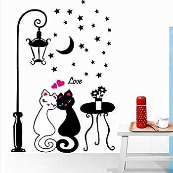 Bestofferbuy adesivo sticker murale romantico con fantasia for Amazon oggettistica