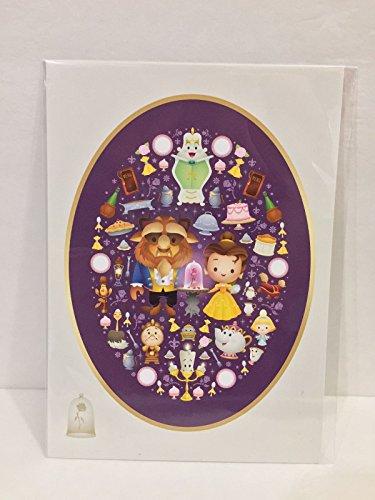 Disney Wonderground Beauty und The Beast Postkarte Ein wahrhaft Enchanted Rose Jerrod Kaoru