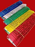 Trouver quelque chose différents drapeaux de prière 916052sur une Corde–Multicolore (Lot de 10)