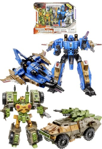 TRANSFORMERS - UNIVERSE - Exclusive - G1 Series - Autobot Ambush - Autobot Roadbuster & Decepticon Dirge - incl. Comic - OVP - Transformers G1 Serie