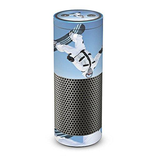 DeinDesign Amazon Echo Plus Folie Skin Sticker aus Vinyl-Folie Snowboard Snow Schnee Echo-snowboard