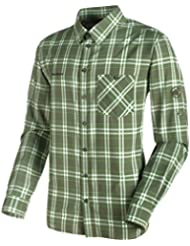 Mammut Belluno Longsleeve Shirt Men Longsleeve Shirts, color:seaweed-sherwood;size:M