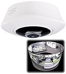 7links Überwachungskamera Decke: 360°-Panorama-IP-Überwachungskamera mit 2K-Auflösung, WLAN, Nachtsicht (Deckenkamera WLAN)