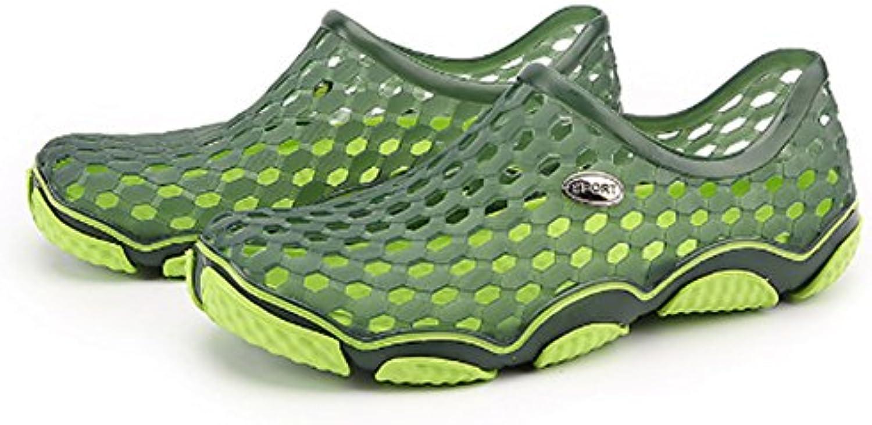 été été trou chaussures cool traînent de les sandales skid preuve de traînent loisirs baotou respi rabl e jardi n ch aussures sandales de plage...b07dpqvf2f parent ff95ec