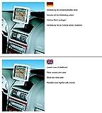 KUDA Navigations Konsole passend für Navi Opel Astra G ab 3/98/Coupe ab 3/00 Mobilia/Kunstleder schwarz