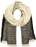 ICHI Damen Schal A Felina SC, Mehrfarbig (Black 10011), One Size