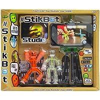StikBot S1003 Studio Set (Orange/White/Clear)