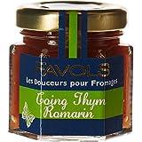 FAVOLS Douceurs pour Fromages Coing Thym Romarin 50 g - Lot de 10